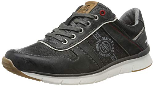 MUSTANG Herren 4137-302-200 Sneaker, Grau (Stein 200), 44 EU