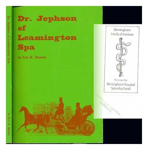 Dr Jephson of Leamington Spa