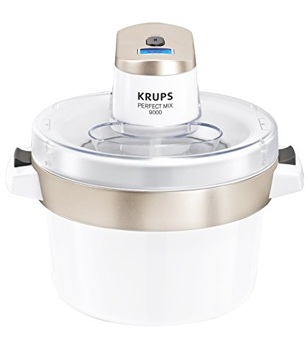 Krups GVS241 Perfect Mix 9000 Eismaschine, 1,6L Fassungsvermögen