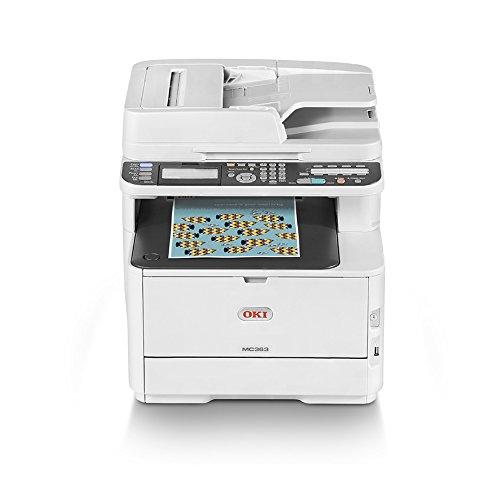 Oki MC363dnw Stampante Multifunzione a Colori con Tecnologia LED, 4 in 1, A4, Fronte/Retro, 26...