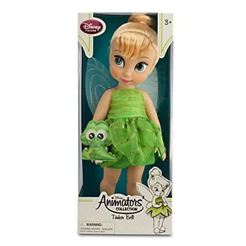 Disney Animators Collection Tinker Bell Doll with Baby Croc 16 Doll by Disney