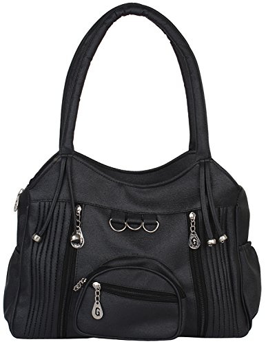 Gracetop Women's Shoulder Bag (Black)