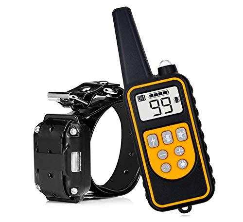 PATPET Collar de adiestramiento para Perros con Control a Distancia 800 Metros