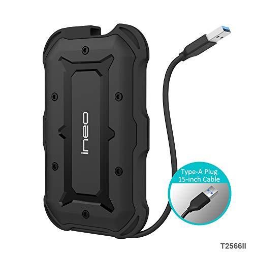 USB 3.1 Gen1 SATA Impermeabile Case Esterno per Disco Rigido 2.5'' - PeakLead T2566II protettivo...