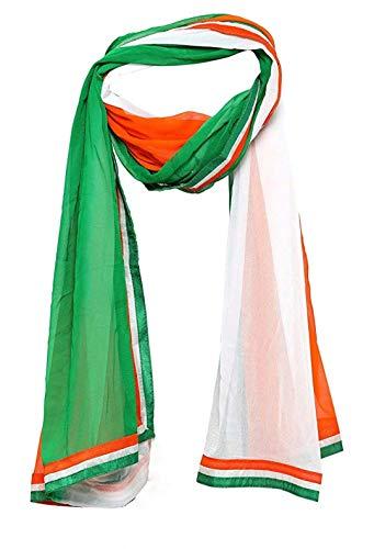 Ajmera's - Man's Stylish Tiranga Dupatta (Tri-Colour) Free Size