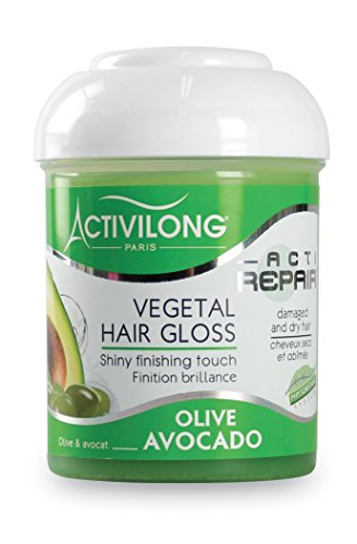 Activilong-Actirepair-Brillantine-Vgtale-Hair-Gloss-aux-Huiles-dOlive-et-Avocat-Bio-125-ml