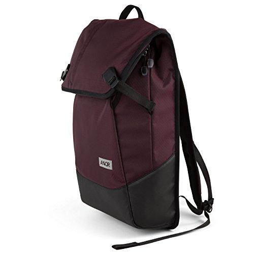 """AEVOR Daypack Rucksack - erweiterbar 18 auf 28 Liter, ergonomisch, Laptopfach 15"""", wasserabweisend, Proof Ruby"""