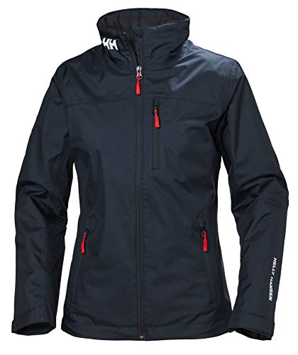 Helly Hansen W Crew Midlayer Jacket, Tuta Sportiva Donna, Blu (Azul Navy 598), X-Small