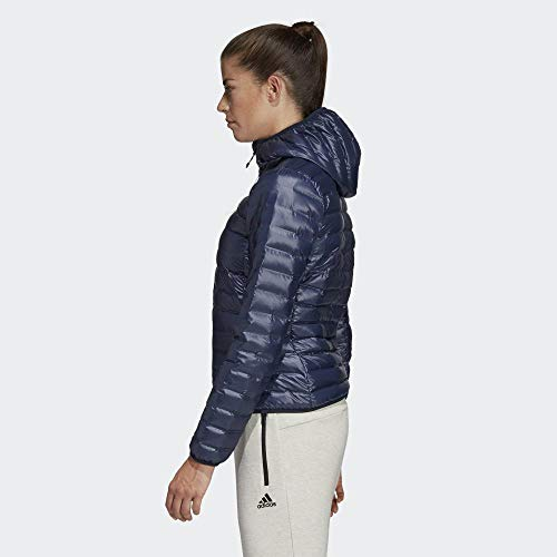 adidas W Varilite Ho J, Giacca Donna, Blu (Tinley)/Bianco, S