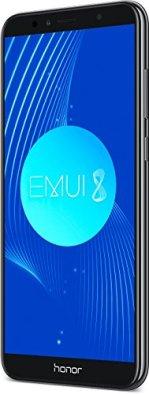 """HONOR 7A Premium Smartphone, Pantalla de 5,7"""", 4G, Octa Core, cámara 13MP y Frontal 8MP, 3GB de RAM, 32 GB de ROM, Negro"""