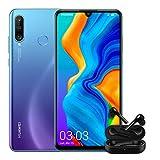 "Huawei P30 Lite + Free Buds -Smartphone de 6.15"", WiFi, Kirin 710, RAM de 4 GB, Memoria Interna de 128 GB, Cámara de 48 + 2 + 8 MP, Android 9, Azul"