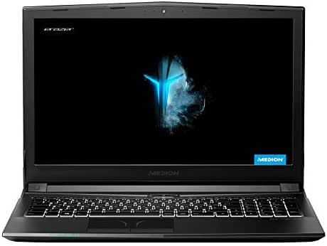 MEDION ERAZER P6605 39,6 cm (15,6 Zoll) Full HD Gaming Notebook (Intel Core I5-8300H, 16GB DDR4 RAM, 1TB HDD, 256GB SSD, NVIDIA GeForce GTX 1050, Win 10 Home)