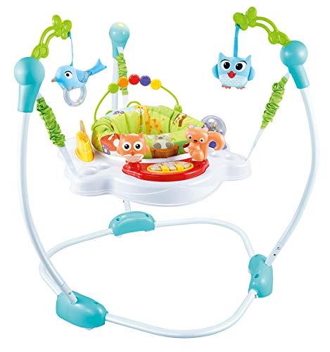 R for Rabbit Kangaroo Baby Jumper Bouncer - Multi Use Bouncing Jumper (Green)