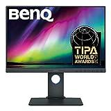 """BenQ SW240 PhotoValue - Monitor de 24.1"""" (1920 x 1200 Pixeles, LED IPS, HDMI), Color Gris"""