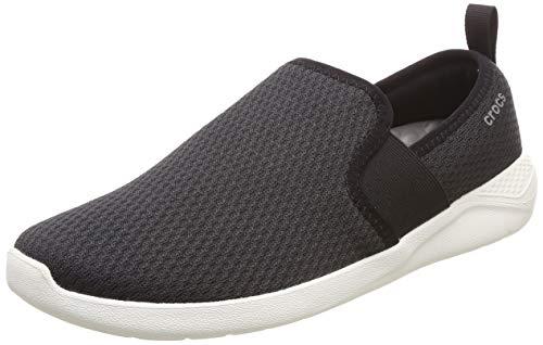 crocs Men's LiteRide Mesh Slip On M Black Sneakers-9 UK (M10) (205679-066-M10)
