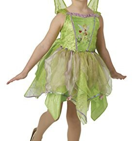 Peter Pan - Disfraz de hada Campanilla Premium para niña, infantil 7-8 años (Rubie's 640428-L)