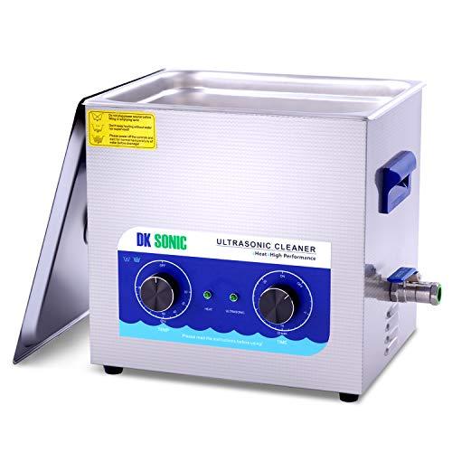 DK SONIC Professional 10L Digital Pulitore ad ultrasuoni con funzione di degasaggio per la pulizia...