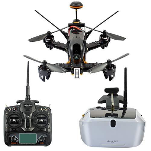 GEHOO GH Walkera F210 Professional Deluxe Racer Quadcopter Drone w/ Goggle4 FPV Glasses /Devo 7...