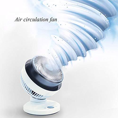 YMBKFan Oscillante Scrivania Ventilatore Forte Vento Portatile Ventilatore da Tavolo con Ventilatore...