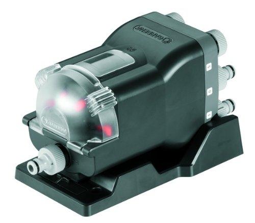 """GARDENA Wasserverteiler automatic: 6-Wege-Verteiler, einfache Bedienung, platzsparend, flexibel einsetzbar, ideal auch für niedrigen Wasserdruck, Gewinde 3/4\"""" Außengewinde (1197-20)"""