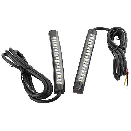 2x 12V 17SMD universale flessibile auto striscia di luci LED, luce di stop auto girare Signal...