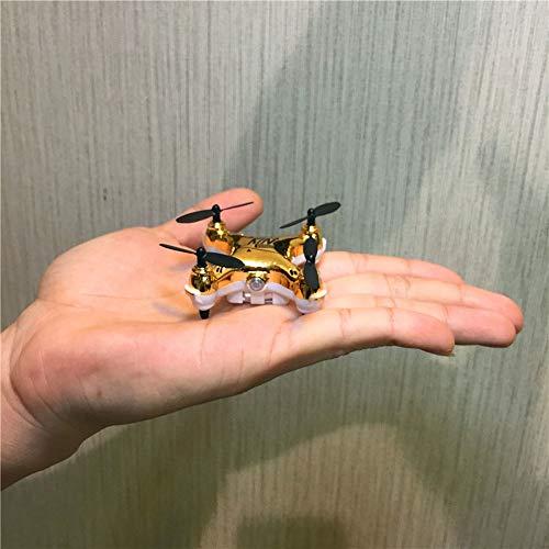 Ycco Super Mini Micro Nano Quadcopter RC Nuovo duraturo UFO Drone con Fotocamera E LUCI LED 2.4G...