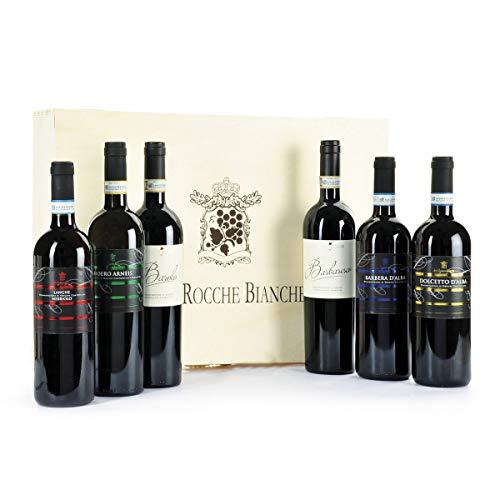 Cassetta Vini Regalo Alte Rocche Bianche - Cassette Vino Selezione Vini Importanti - cod 224