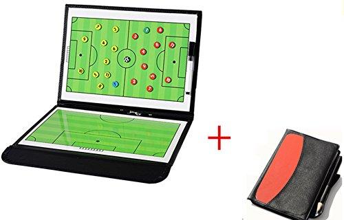 WENHAOYU - Lavagna per tattiche e strategie da allenatore di calcio, magnetica, pieghevole, con...