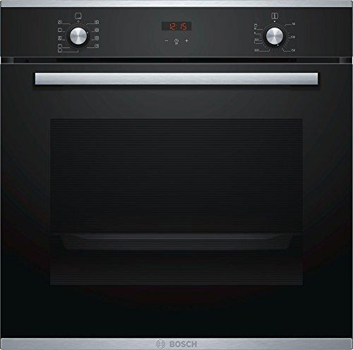 Bosch - Forno ad incasso HBA214BR0J finitura vetro nero con acciaio inox da 60cm