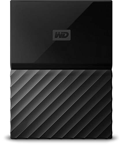 WD My Passport Mobile WDBYFT0040BBK-WESN 4 TB  Externe Festplatte (6,4 cm (2,5 Zoll), mit Kennwortschutz, Standard Oberfläche) Schwarz