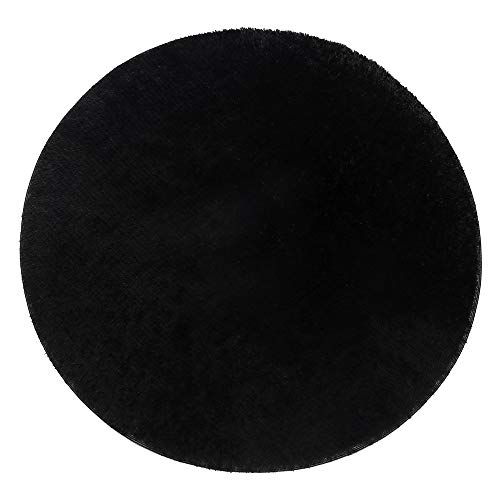 Iulalula - Tappeto circolare, morbido, tappeto decorativo per soggiorno, camera da letto, stanza da...