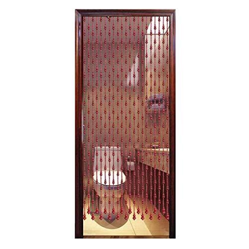 Tenda Perline per Porta PENGFEI Naturale Legno per Divisorio, Passaggio dell'Armadio della Porta,...