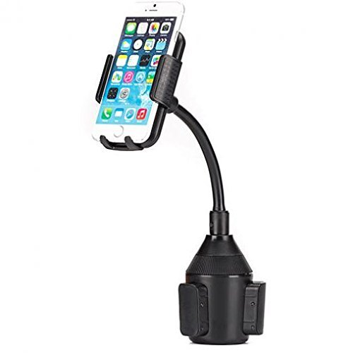 Tracfone/Net10/StraightTalk LG Premier LTE Compatible Premium Car Cup Holder Phone Mount Cradle Rotating Dock Strong Grip Gooseneck