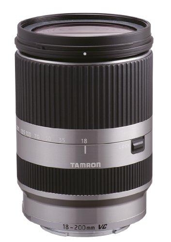 Tamron 18-200mm F/3.5-6.3 Di III VC Nex Objektiv für Sony NEX-Serie silber