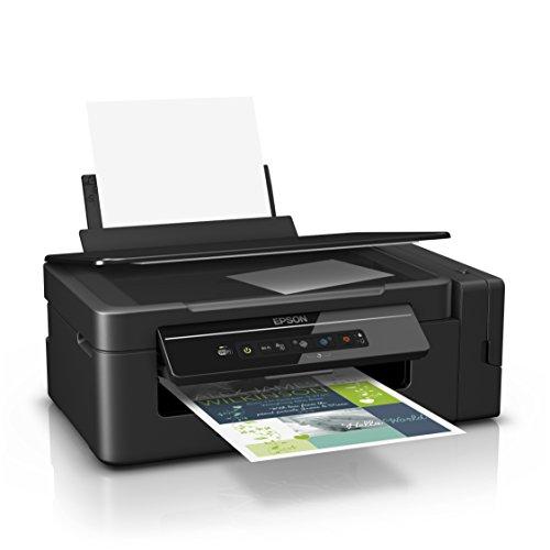 Epson EcoTank ET-2600, Stampante InkJet 3-in-1, 4 colori, Nero