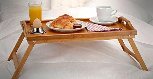 Tavoli Per Colazione A Letto : Tavolo da colazione in bambù laptop tavolo vassoio in legno tavolino