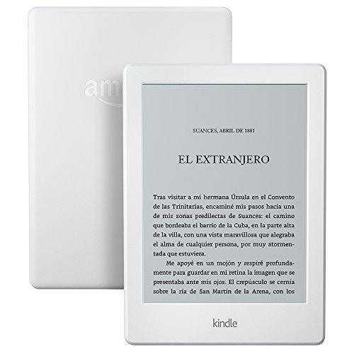 Kindle, pantalla táctil de 6'' (15,2 cm), sin luz integrada, wifi, negro (8.ª generación, modelo anterior)