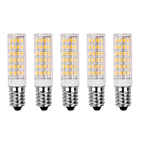 Lampadine E14 LED 7W Equivalenti a 60W, SanGlory Lampadine Attacco E14 Luce Bianca Calda 3000K 520LM...