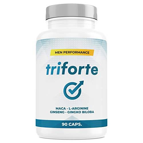 TRIFORTE Men Performance - Testosteronspiegel und Energie - 90 Kapseln