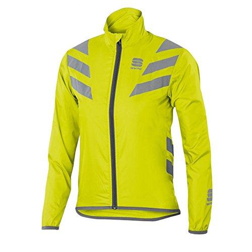 SPORTFUL-Reflex Jacket Junior, Colore: Giallo, Argento, Taglia 8/