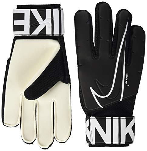 Nike GS3882, Guanti da Calcio Unisex - Adulto, Black/White, 9