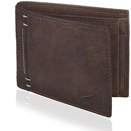 Accezory Brown Men's Wallet (AZLR880)