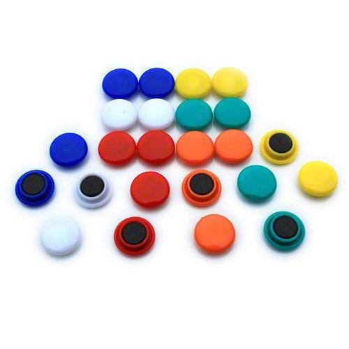 Magnet Expert - Magneti piccoli per planning/lavagnetta da cucina in ufficio e sul frigorifero 20 x...