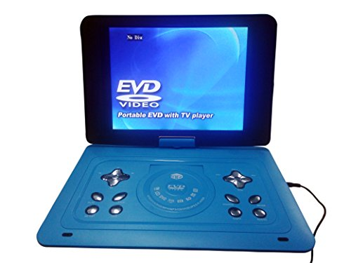 Gadget-Wagon 7.8-inch/9.8-inch/15.2-inch DVD Player with Screen, Speaker, Inbuilt USB, MMC, FM, VGA, Game Feature and Rechargeable Battery(9.8-inch)