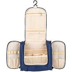 Kulturbeutel zum Aufhängen Große Reise-Kulturtasche für Frauen & Männer Wasserresistente Waschtasche mit vielen Fächern