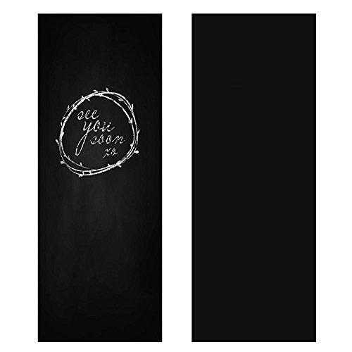 Yahee lavagna adesiva per muro parete, 60 x 300 cm, nero