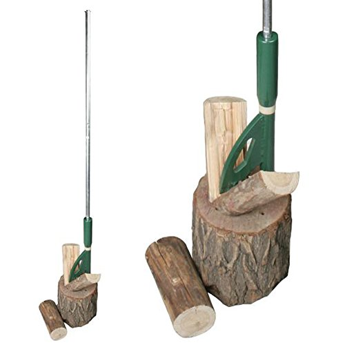 Easy Wood cortadoras de troncos manual para cortador de leña Cuña 3001 incluido