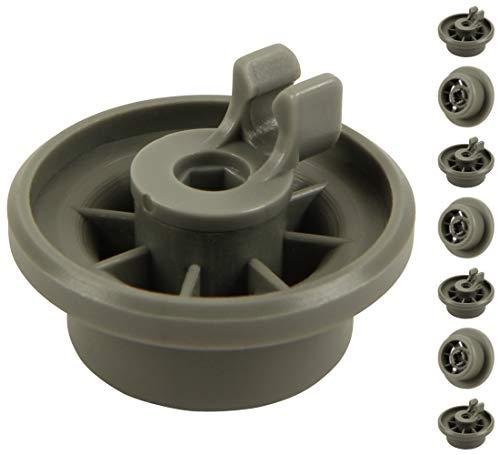unterkorbrollen per lavastoviglie | Contenuto: 8pezzi | Adatto per Siemens, Bosch, Neff, ecc. |...