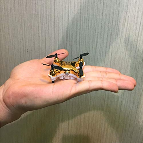 Ycco Super Mini Micro Nano Quadcopter RC Nuovo Durevole UFO Anti-Collision Drone Toy per Bambini...