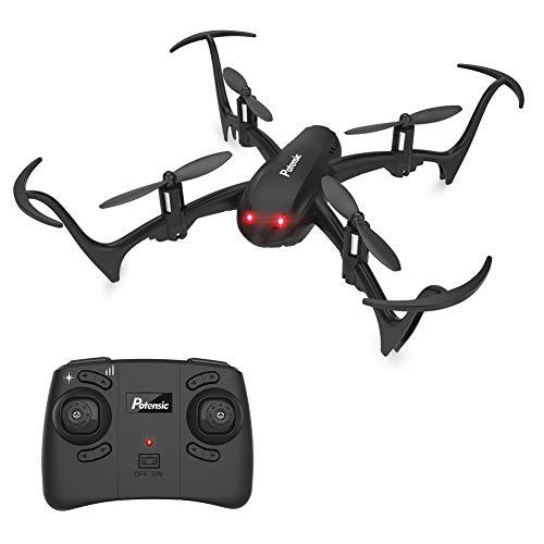 Potensic Mini Drone D10 Telecomandato Funzione di Sospensione Altitudine,Un Tasto di...